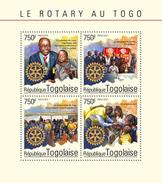 TOGO 2014 - Malaria, Polio. Rotary; CV = 17 € - Disease
