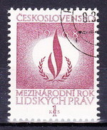 Tchécoslovaquie 1968 Mi 1772 (Yv 1623, Obliteré - Gebraucht