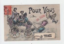 31 - POUR VOUS CES FLEURS DE TERMES (Edition A.F. LACLAU à TOULOUSE) - Autres Communes