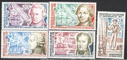 Nouvelle Caledonie Posta Aerea 1974 Serie N. 154-158 MNH Cat. € 37.50 - Unused Stamps