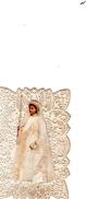 IMAGE RELIGIEUSE XIXè Communiante Relief - Devotion Images