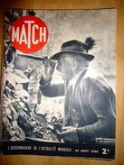 13 N°s De Match 1939 - Journaux - Quotidiens