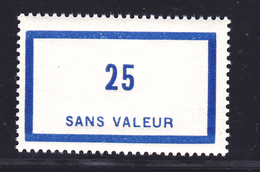 FRANCE FICTIF N°  F88 ** MNH Timbre Neuf Sans Charnière, TB - Ficticios