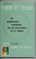 Catalogue Yvert Et Tellier  1993 - France