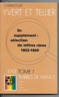 Catalogue Yvert Et Tellier  1991 - France