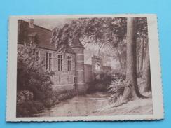 Museum STERCKXHOF Deurne / Schilderij Juffrouw Vermoelen () Anno 19?? ( Details Zie Foto´s ) ! - Antwerpen