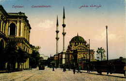 CONSTANTINOPLE - TOPHANE - TRAM - Turkey