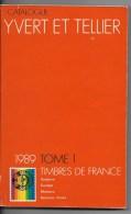 Catalogue Yvert Et Tellier  1989 - France