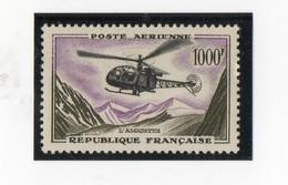 Hélicoptère Alouette N° 37 - Poste Aérienne