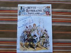 LA REVUE LORRAINE POPULAIRE  N° 8 Fevrier 1976 Jean Marie CUNY - Lorraine - Vosges
