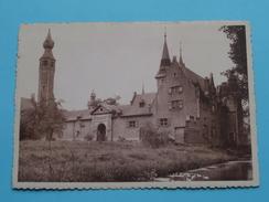 Museum STERCKSHOF Deurne / Achtergevel Met Kijktoren () Anno 19?? ( Details Zie Foto´s ) ! - Antwerpen