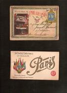2 Postkaartenboekjes ; 1 X HISTORICAL PHILADELPHIA En 1 X PARIJS / PARIS ; Staat Zie Alle Scans ! Inzet 10 € ! - Postkaarten