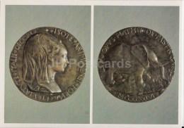 Medal Of Isotta Degli Atti Of Rimini , 1446 . Italy - Renaissance Medals - 1987 - Russia USSR - Unused - Monnaies (représentations)