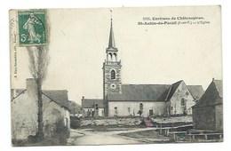 35 - SAINT-AUBIN-DU-PAVAIL - L'Eglise - CPA - France