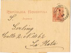 21028. Faja Publicacion EXPEDICION AL INTERIOR, Buenos Aires (argentina) 1895 - Cartas