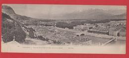 Grenoble  --  Panorama De La Chaine Des Alpes - Grenoble