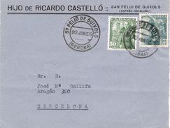 21032. Frontal Comercial SAN FELIU De GUIXOLS (Gerona) 1955. Ricardo Castello - 1931-Aujourd'hui: II. République - ....Juan Carlos I