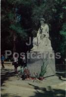 Kyrgys Musician Toktogul Satylganov - Osh - Old Postcard - Kyrgystan USSR - Unused - Kirghizistan