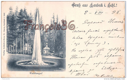 Autriche - Gruss Aus Landeck - Waldtempel 1898 - Good Condition - Autriche