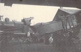 14 - CAEN - Accident D'un Train De L'état, Rue De La Gare En 1929.(carte Petit Format Telichko éditeur) - Caen