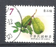 TAIWAN 2001 Fruits          USED