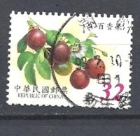 TAIWAN   2002 Fruits  Passiflora Edulis     USED