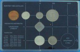 Antillen, Nederlandse, 1984, Yearset Queen Beatrix 1984, Official Pack - Antillas Nerlandesas