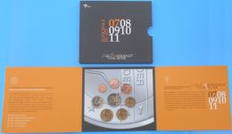 Nederland, 2007, Jaarset  In BU Kwaliteit, Netherlands Year Set 2007 Coinage In Brilliant Unused Quaity - [ 9] Mint Sets & Proof Sets