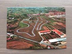 Cartolina In Bianco Anni '70-80 Di Maranello (MO) Veduta Aerea Della Pista Ferrari - Modena