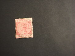 BARBADOS - 1884/93 REGINA  1 P. - TIMBRATO/USED - Barbados (...-1966)