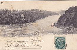 Niagara Falls - Whirlpool And River (Montreal Import Co, 1903) - Chutes Du Niagara