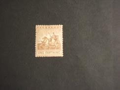 BARBADOS - 1909/10 ALLEGORIA  1 F. - NUOVO(+) - Barbados (...-1966)