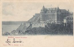 Quebec - Château Frontenac (Montreal Import Co (précurseur, 1903) - Québec - Château Frontenac