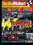 X SICILIA MOTORI 7/09 TARGA FLORIO FLORIOPOLI RALLY CONCA D'ORO AUTOSTORICHE CERDA MADONIE CORLEONE - Motori