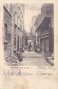 Quebec - Sous Le Cap (animée, Attelage, 1903...tache, Sans Timbre) - Québec - La Cité