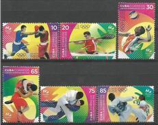 Cuba 2016 Olympic Games Rio De Janeiro. Box, Voleyball 6v MNH