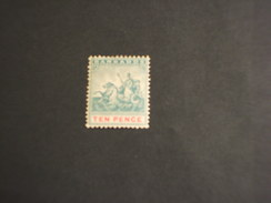 BARBADOS - 1892/903 ALLEGORIA  10 P. - NUOVO(+) - Barbados (...-1966)