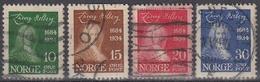 NORUEGA 1934 Nº 160/63 USADO - Noruega