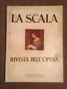 LA SCALA - Rivista Dell'Opera - 15 Gennaio 1950 - Boeken, Tijdschriften, Stripverhalen