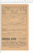 2 Scans Document De 1901 Cirque Médrano / Publicité Photographie Panajou Frères Bordeaux - Pozzo Lyon  VP 204/3