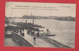 Châlon Sur Saone  --  Inondations  --  Janvier 1910 - Chalon Sur Saone