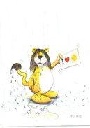 Leeuw Lion FELIX Humor Humoristique - Lions