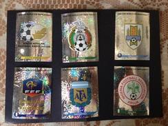 SOUT AFRICA 2010 - FIFA - N° 06 SCUDETTI PANINI - 31-50-69-88-107-126 - Panini