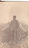 389-Cartolina Fotografica Originale Epoca 1^ Guerra Mondiale-Effigi Di Soldati Italiani-Da Cima Vaso-1916 - Guerra 1914-18