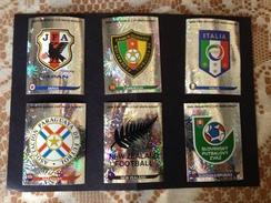 SOUTH AFRICA 2010 - FIFA - N° 06 SCUDETTI PANINI - 373 - 392 - 411 - 430 - 449 - 468 - Panini