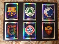 UEFA CHAMPIONS LEAGUE - OFFICIAL 2010 / 2011 - N° 06 SCUDETTI PANINI - 209 - 226 - 243 - 260 - 277 - 294 - Panini
