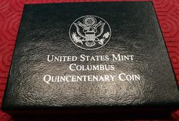 USA 1992, The Columbus Quincentenary Coins, Half Dollar Uncirculated - Etats-Unis