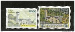 ANDORRA. Radio Andorra ! .  Deux Timbres Neufs ** Poste Française Et Correus Epanyols. - Unused Stamps