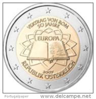 Austriche 2 Euro 2007 -  Unc  ( 50th Anniversary Of The Treaty Of Rome ) - Autriche