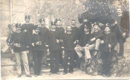 POLIZIA 1900s FOTOGRAFIA VEDOVA ONGARO ANGELO - VICENZA E RECOARO CPA DOS DIVISE RARISIME POLIZEI POLICEMEN POLICIAS - Politie-Rijkswacht